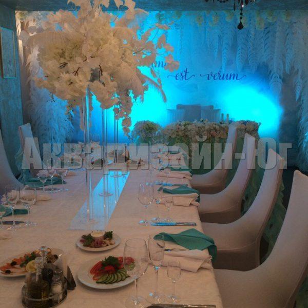akrilovaja stojka svadba